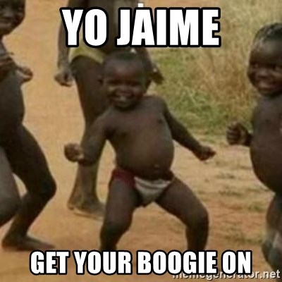 Black Kid - YO JAIME GET YOUR BOOGIE ON