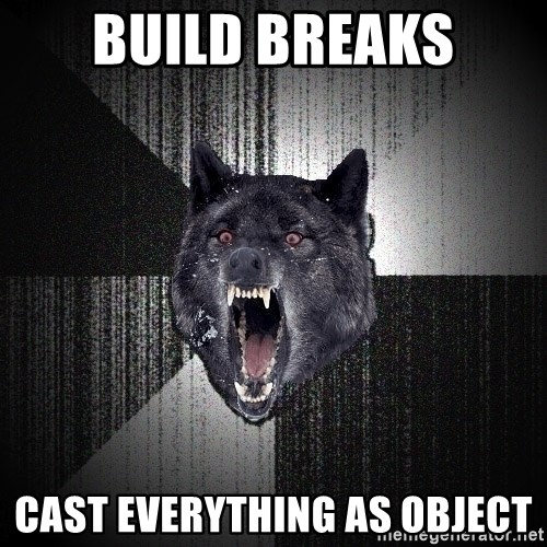Insanity Wolf - BUILD BREAKS CAST EVERYTHING AS OBJECT