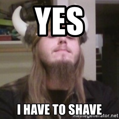 Nordic Lopez - YES I HAVE TO SHAVE