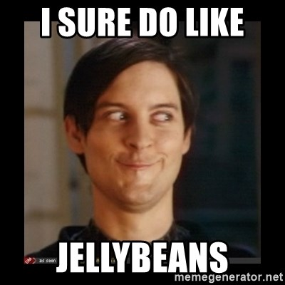 Tobey_Maguire - I SURE DO LIKE  JELLYBEANS