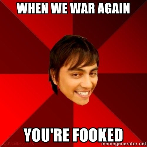 Un dia con paoly - when we war again you're fooked