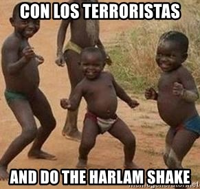 african children dancing - Con los terroristas AND DO THE HARLAM SHAKE