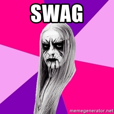 Black Metal Fashionista - SWAG