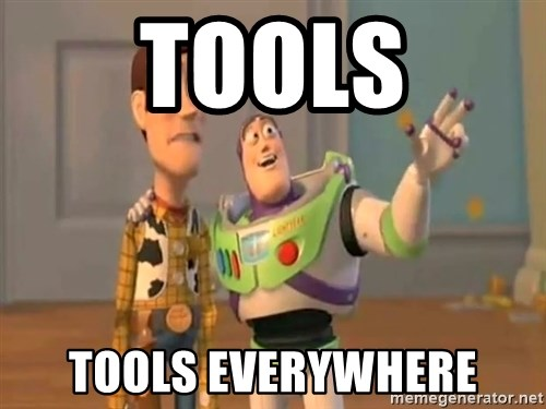 X, X Everywhere  - tools tools everywhere