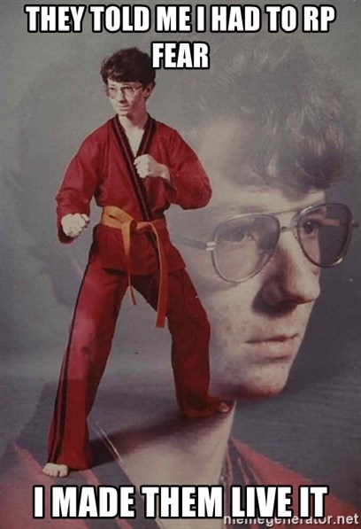 PTSD Karate Kyle - They Told me I had to RP fear I made them live it