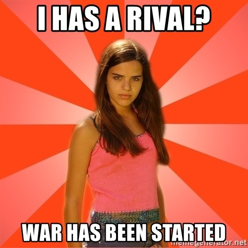 Jealous Girl - i has a rival? war has been started
