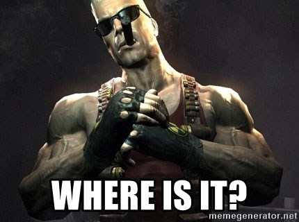 Duke Nukem Forever -  where is it?