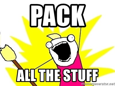 X ALL THE THINGS - Pack  all the stuff