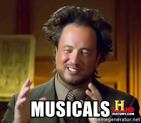Ancient Aliens -  musicals