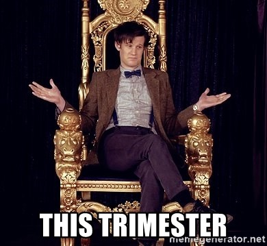 Hipster Doctor Who -  THIS trimester