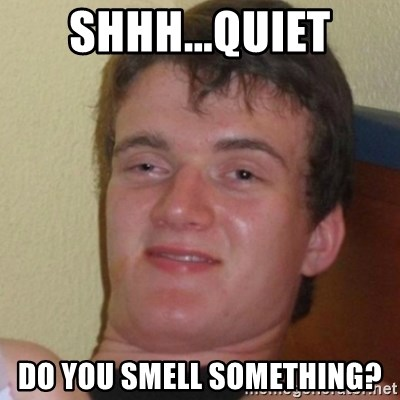 Stoner Stanley - SHHH...QUIET DO YOU SMELL SOMETHING?