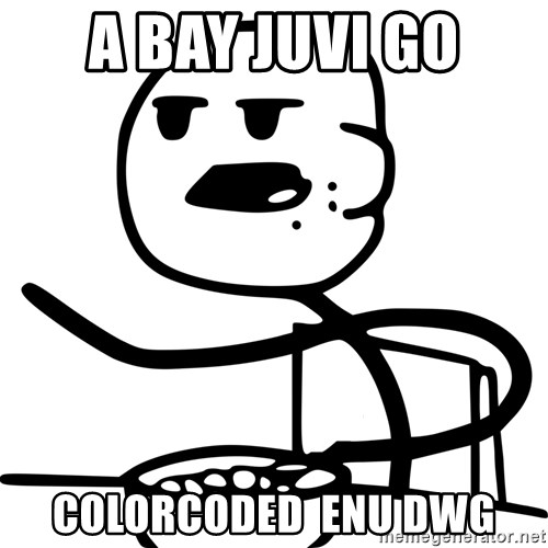 Advice Cereal Guy - a bay juvi go colorcoded  enu dwg