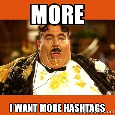 Fat Guy - MORE I WANT MORE HASHTAGS
