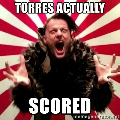 Advice Zoog - TORRES ACTUALLY  SCORED