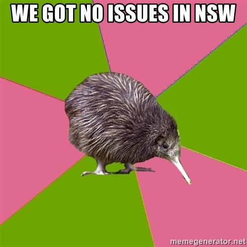 Choir Kiwi - We got no issues in NSW