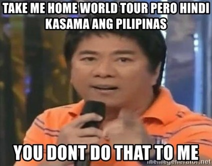 willie revillame you dont do that to me - take me home world tour pero hindi kasama ang pilipinas you dont do that to me