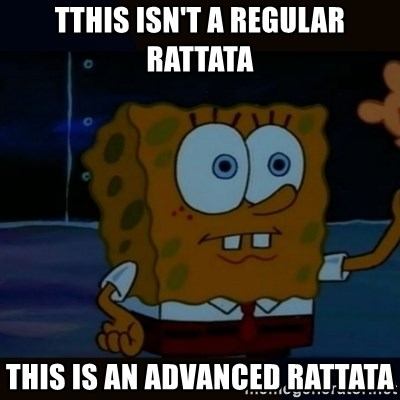 Advanced Darkness - tTHIS ISN'T A REGULAR RATTATA this is an advanced rattata