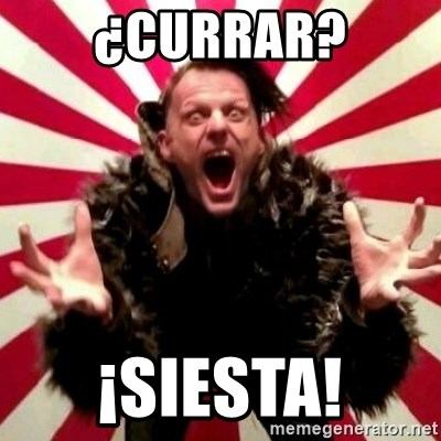 Advice Zoog - ¿CURRAR? ¡SIESTA!