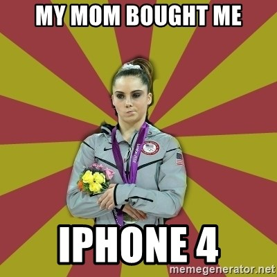 Not Impressed Makayla - MY MOM BOUGHT ME iphone 4