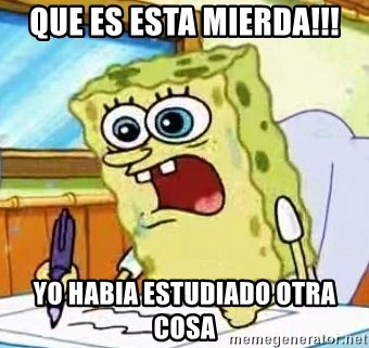 Spongebob What I Learned In Boating School Is - QUE ES ESTA MIERDA!!! YO HABIA ESTUDIADO OTRA COSA