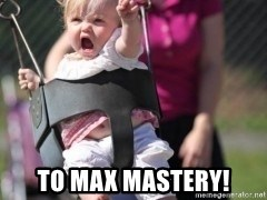 little girl swing -  To Max Mastery!