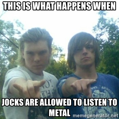 god of punk rock - this is what happenS when jocks are allowed to listen to metal