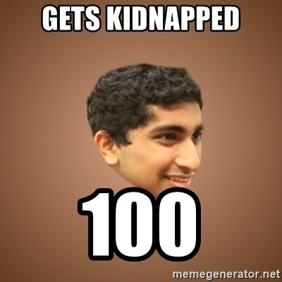 Handsome Indian Man - Gets kidnapped 100