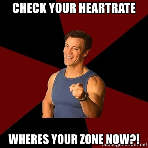 Tony Horton - Check your heartrate wheres your zone now?!