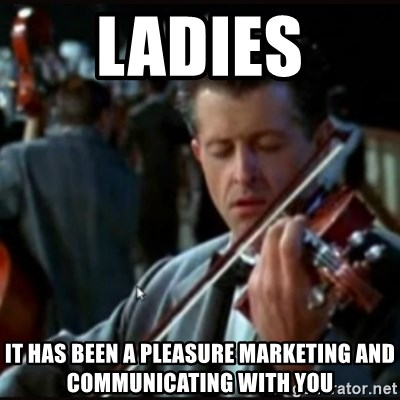 Titanic Band - Ladies IT HAS BEEN A PLEASURE MARKETING AND COMMUNICATING WITH YOU