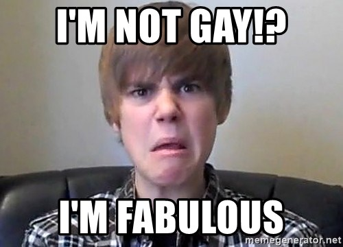 Justin Bieber 213 - I'M NOT GAY!? i'M fABULOUS