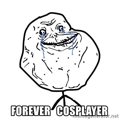 Forever Alone Guy -  Forever   cosplayer