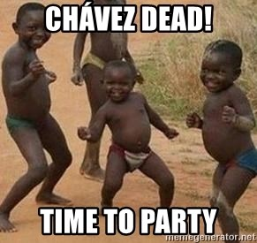 african children dancing - Chávez DEAD! Time To party