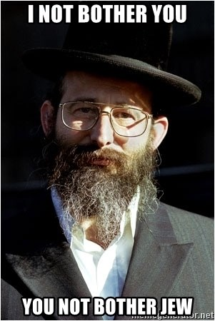 Like-A-Jew - i not bother you you not bother jew