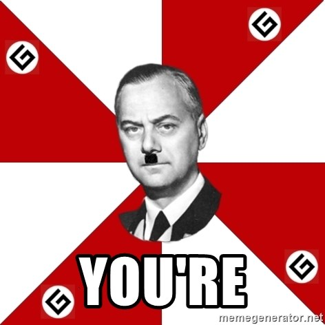 TheGrammarNazi -  YOU're