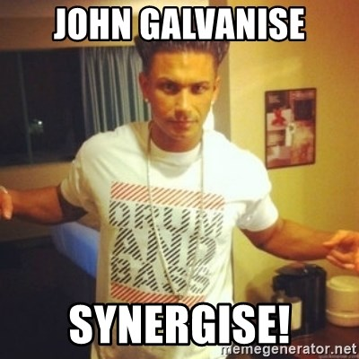 Drum And Bass Guy - John Galvanise Synergise!