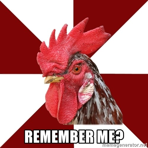 Roleplaying Rooster -  Remember me?