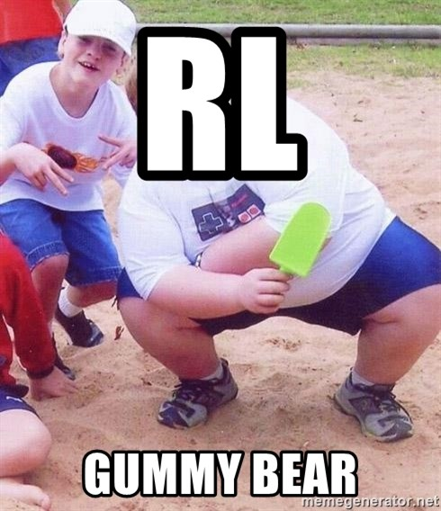 American Fat Kid - RL Gummy Bear
