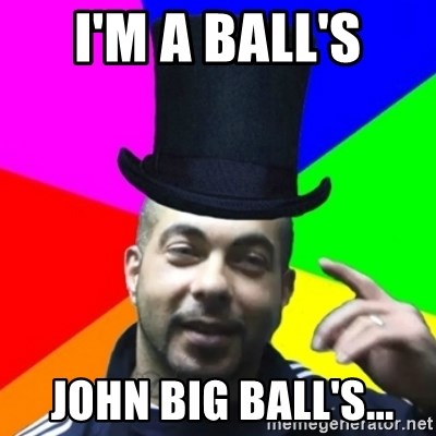 facebookazad - i'm a ball's  john big ball's...
