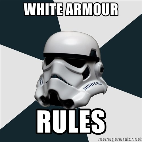 stormtrooper - White Armour Rules