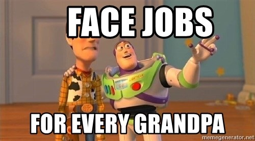Consequences Toy Story -     FACE JOBS For Every Grandpa