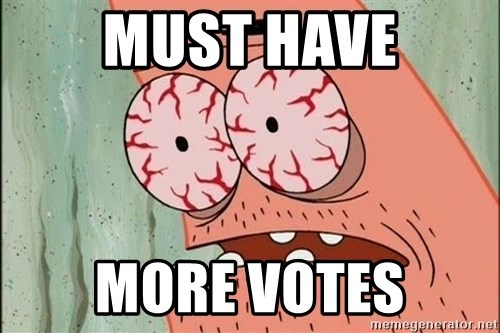 Stoned Patrick - mUST HAVE MORE VOTES
