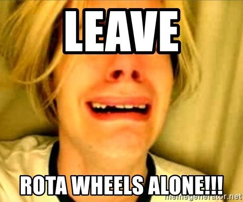 Leave Brittney Alone - leave rota wheels alone!!!
