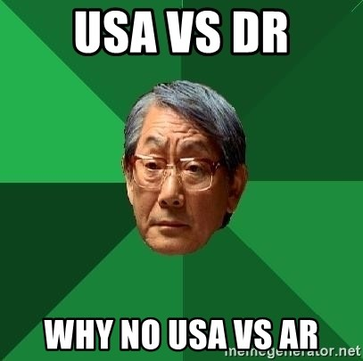 High Expectations Asian Father - USA vs Dr why no usa vs ar