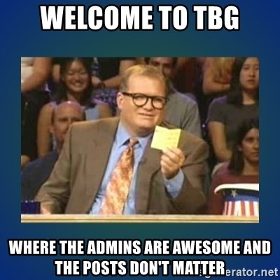 drew carey - Welcome to tbg where the admins are awesome and the posts don't matter