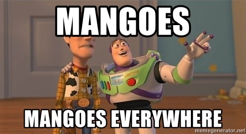 Toy Story Everywhere - mangoes mangoes everywhere