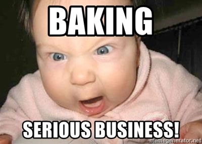 Angry baby - BAKING SERIOUS BUSINESS!