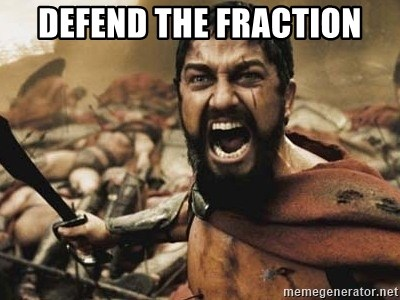 300 - Defend the Fraction
