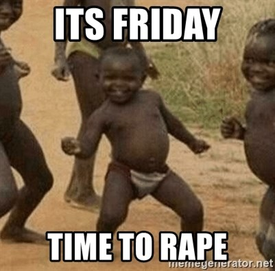 Success African Kid - its friday time to rape