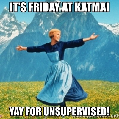 Sound Of Music Lady - It's friday at katmai yay for unsupervised!