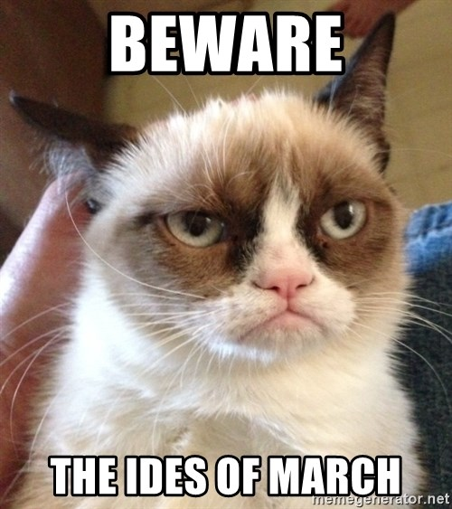 Grumpy Cat 2 - Beware the ides of march